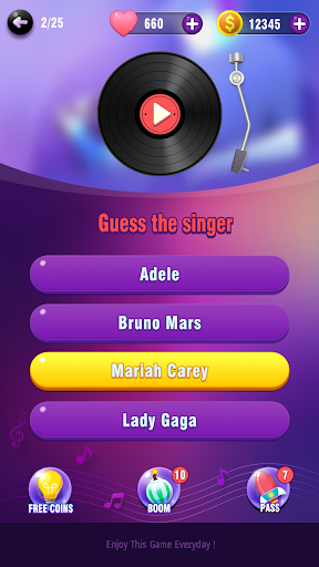 Music Trivia: Guess the Song screenshot 1