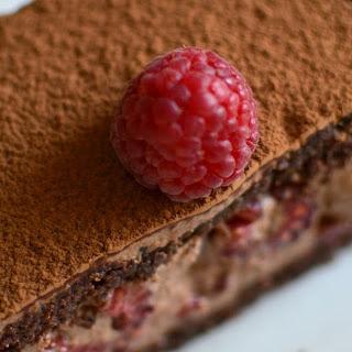 Nutella Raspberry Mini Mousse Cakes