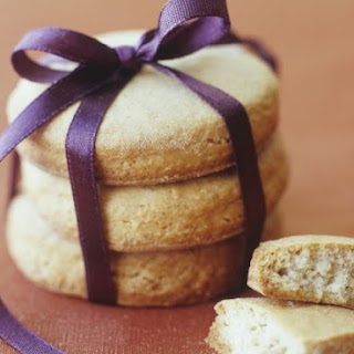 Butter Cookie Stack for a Gift