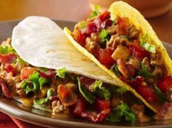 Bacon Cheeseburger Tacos Recipe