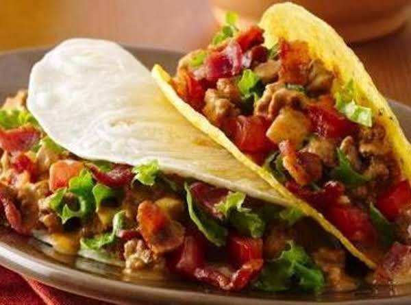Bacon Cheeseburger Tacos Recipe