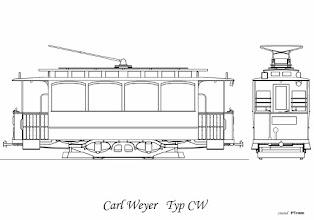 Photo: W 1904 roku dostarczono do Poznania pierwszych 8 sztuk tych wagonów z fabryki Carl Weyer. Od wagonów II i III typu różniły się z zewnątrz tylko szczegółami m. in. uchwytami i kształtem świetlików dachowych. Posiadały silnik 20 KM i nastawniki AEG.