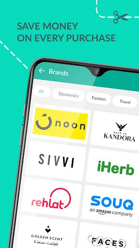 Almowafir App: Best Deals & Discount Coupons 1.0.5 screenshots 2