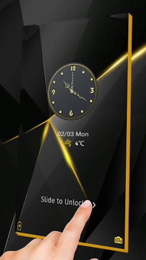 Black Luxury Theme for Huawei screenshot 3