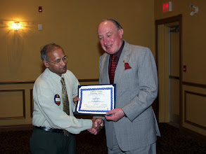 Photo: Kashyap Desai of Stantec received a second TEGA Award