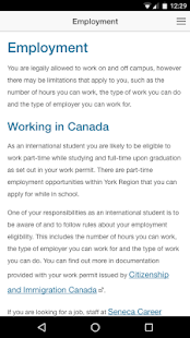 International Student Guide- screenshot thumbnail