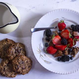 Healthy Oatmeal and Tahini Cookies