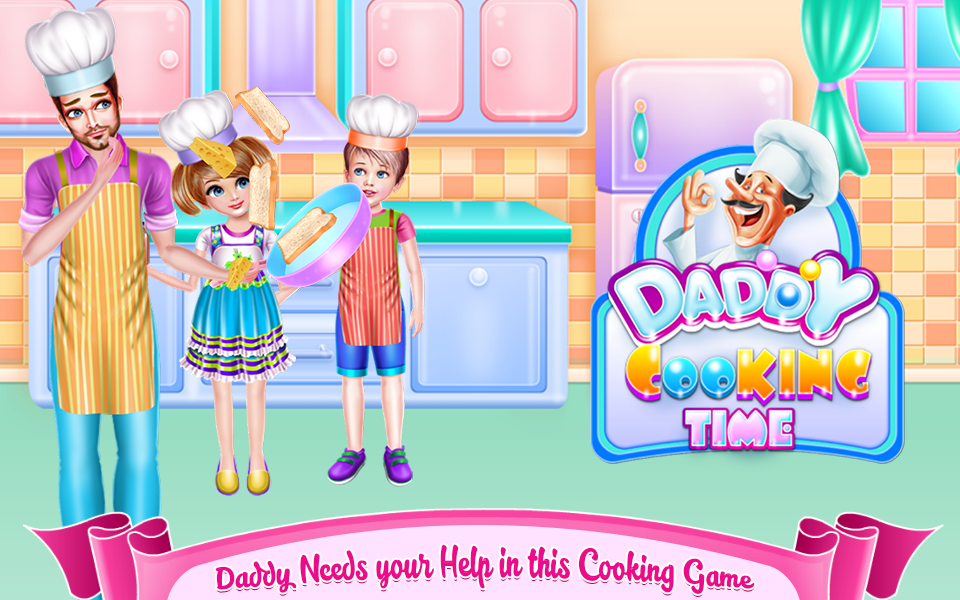 Daddy Cooking Time- screenshot
