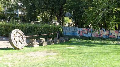 Photo: Überreste der gesprengten Versöhnungskirche
