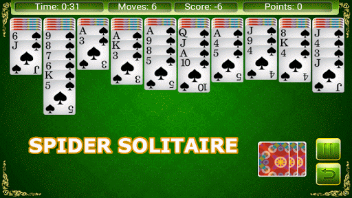 Solitaire 6 in 1  screenshots 3