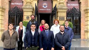 Equipo de Koppert en la Universidad de Córdoba.