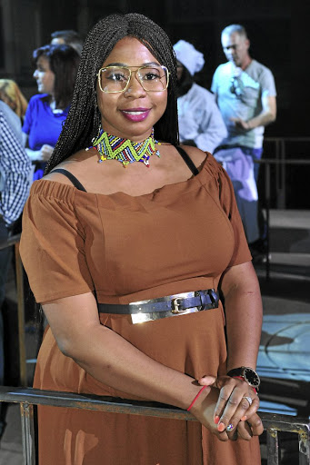 'Hangman' Top 7 finalist Lebohang Motsoeneng wants to make I-Waiter a sought after device in the restaurant sector. / Lettie Ferreira