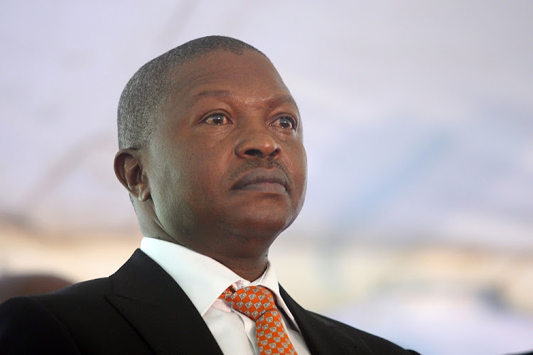 David Mabuza. Picture: SOWETAN