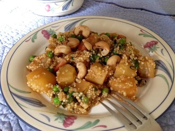 Pineapple Quinoa With Shrimp Recipe