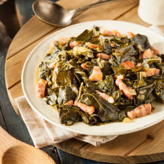 Collard Greens With Turkey Bacon