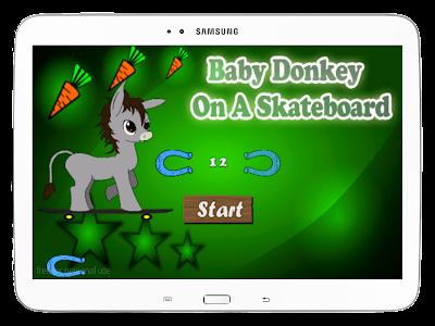 Baby Donkey On A Skateboard screenshot 10