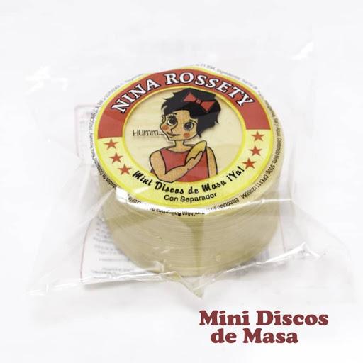 mini disco de masa nina rossetty