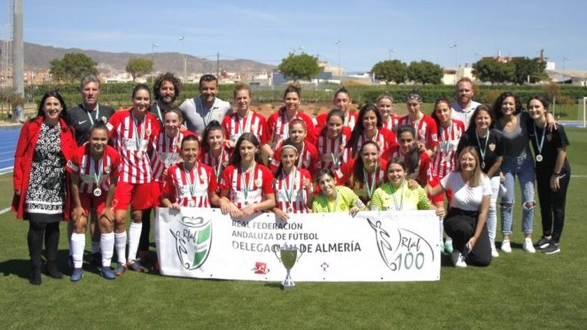 El Almería Femenino debutará en el Mediterráneo.