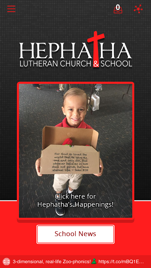 Hephatha Lutheran School- screenshot