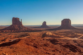 Photo: Arriving in Monument Valley