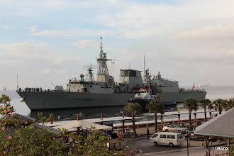 Photo: Llega a Curazao un buque de la armada canadiense.