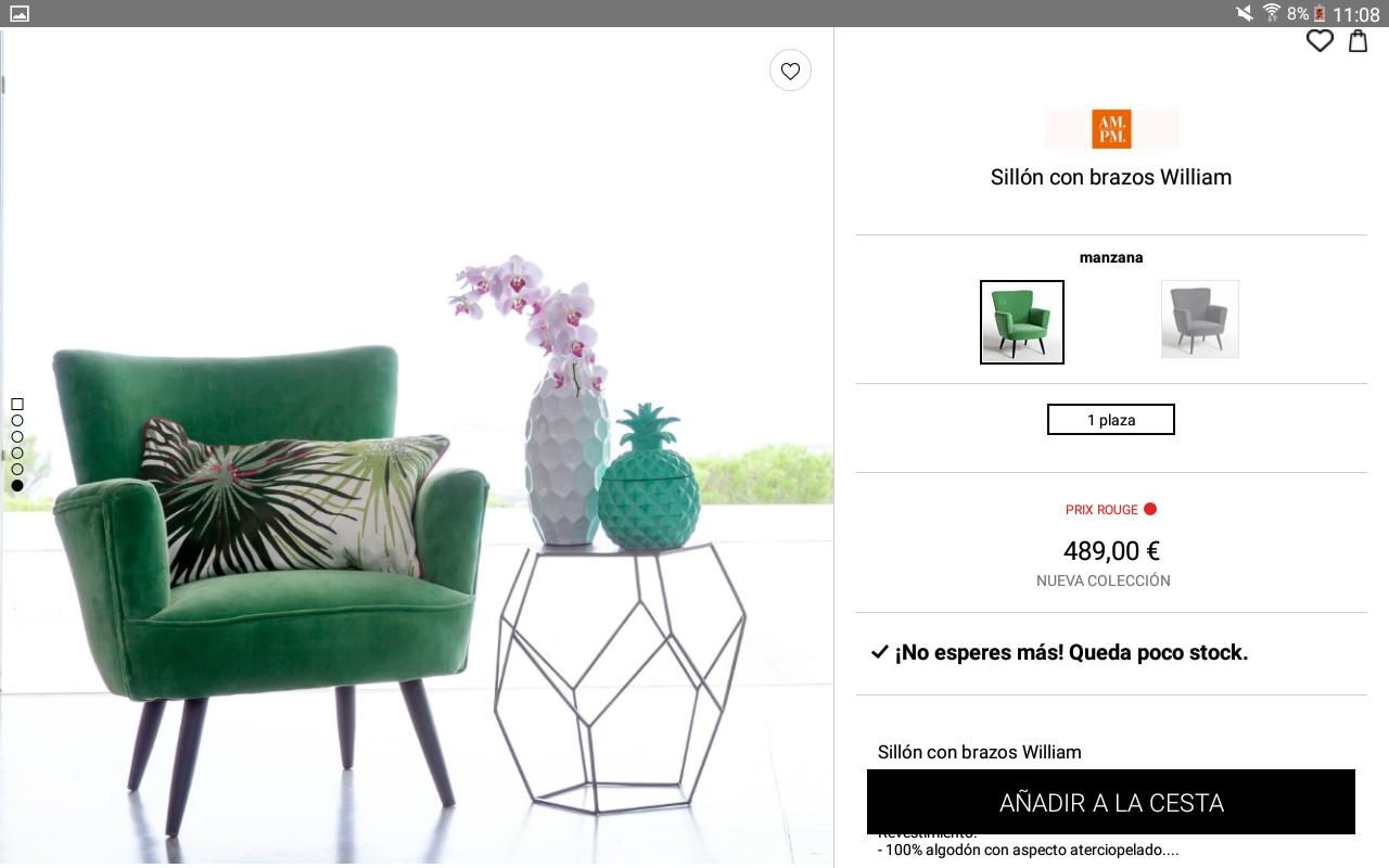 La redoute moda y decoraci n aplicaciones de android en for La redoute decoracion