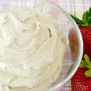 Whipped Mascarpone Cream with Balsamic.