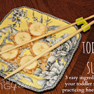 Snack Ideas - Toddler Sushi