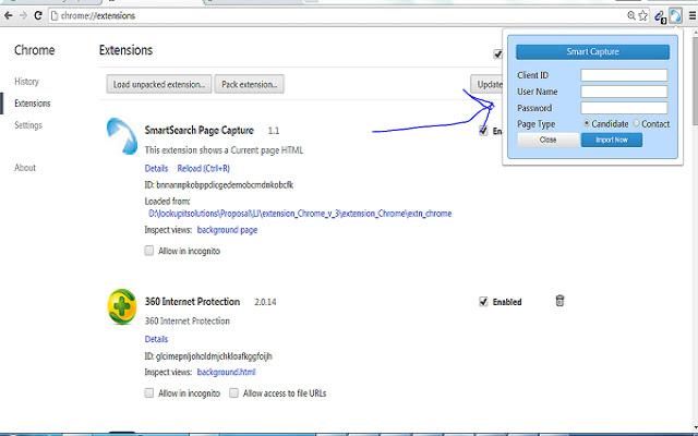 SmartSearch Page Capture V10.0