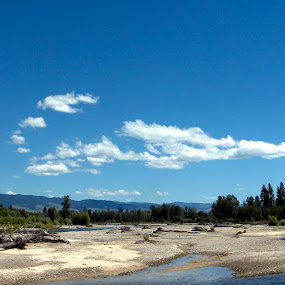 Tuckers Crossing Fishing Access MT by Gregg Landry - Landscapes Waterscapes (  )