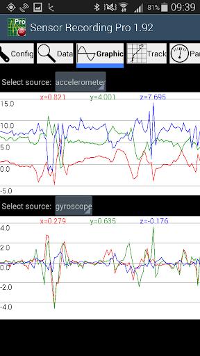 Sensor Recording Lite screenshots 3