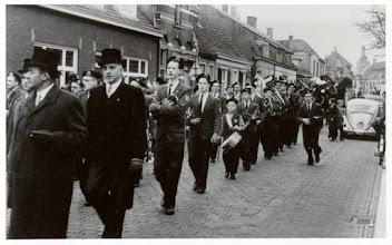 Photo: 1961  Intocht van St. Nicolaas in de Dreef
