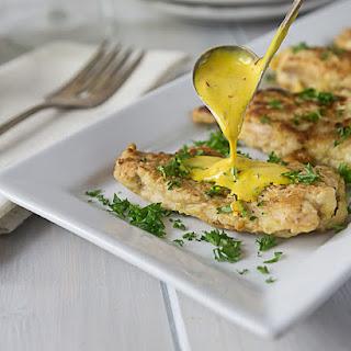 Chicken in Creamy Saffron Sauce.