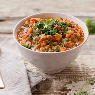 Kabocha Squash + Adzuki Bean Stew.