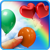 Balloons, live wallpaper