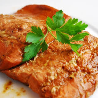 Ginger Soy Salmon.