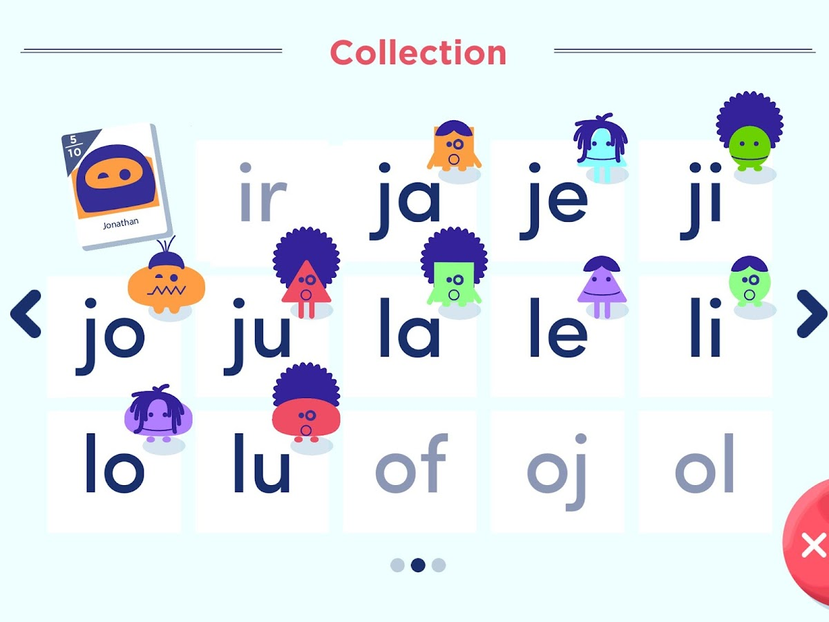Montessori French Syllables- screenshot