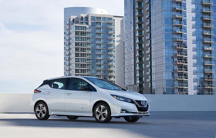 Nissan debuts an upgraded Leaf, the LEAF e+