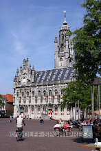 Photo: Marktplatz in Middelburg (NL)