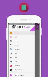 AIO Fashion Shop - náhled