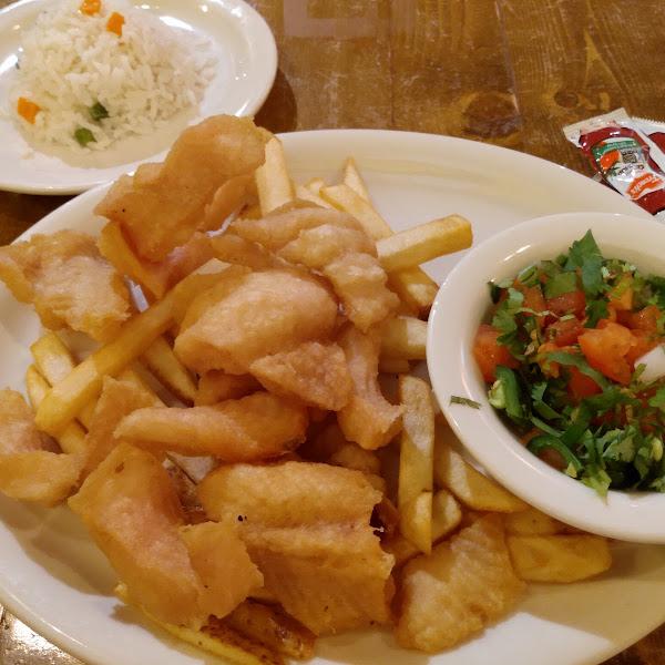 Fish chicharron