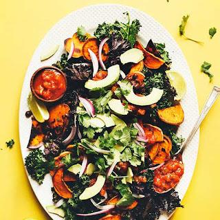 Kale Chip Nachos (30 Minutes!).