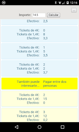 Calculadora Ticket Restaurant