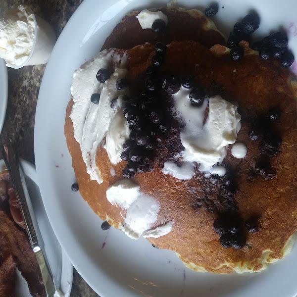 Gluten Free Blueberry Pancakes!