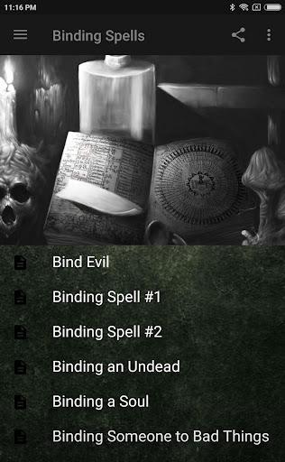 BLACK MAGIC: BINDING SPELLS Apk by Garden of Serenity - wikiapk com