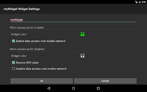WiFi Access Point (hotspot)- screenshot thumbnail