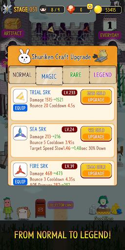 NINJA SHURIKEN - Legend Defense screenshot 4