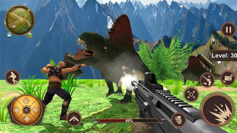 Dinosaur Hunter 2019 - Escape or Shoot,Choice Your Cheat APK MOD Download 1.4