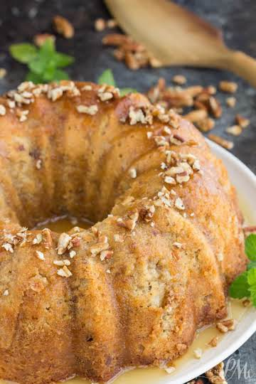 Southern Butter Pecan Pound Cake