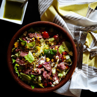 Steak Salad with Lemon-Basil Vinaigrette